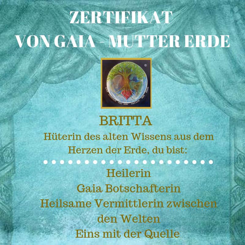Heilerin Gaia Botschafterin Heilsame Vermittlerin zwischen den Welten
